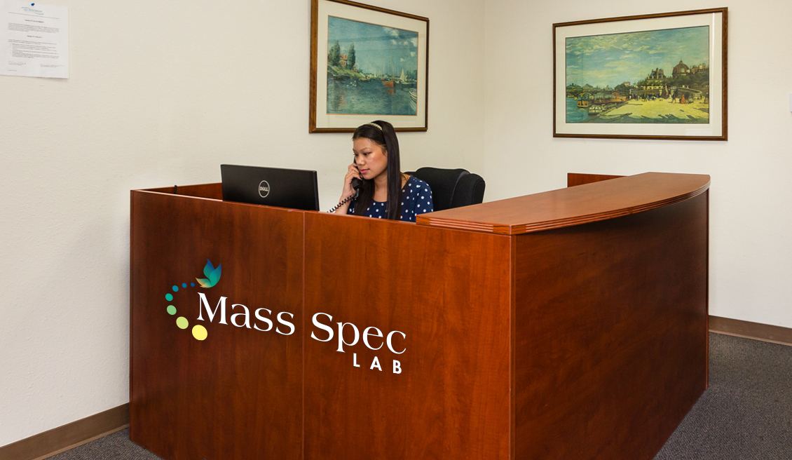 mass spec lab front desk